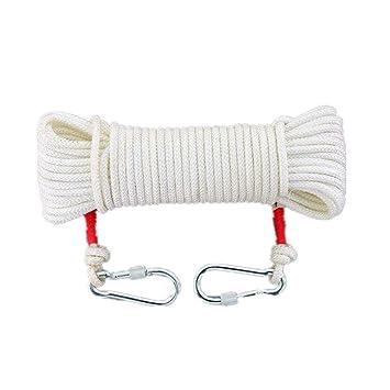 RKY Cuerda de escape de incendio núcleo de alambre doméstico ropa exterior secado de nylon atado