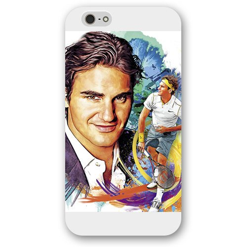 """Price comparison product image iPhone 6 plus 5.5"""" case,  Customize Factory Roger Federer Hard Frosted White iPhone 6s plus 5.5"""" Case Neverfade Scratch-free Compatible case"""