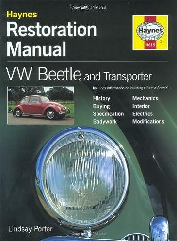 Vw super beetle manual ebook array vw beetle u0026 transporter restoration manual lindsay porter rh fandeluxe Gallery
