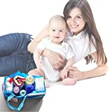 Storage Bag Mother Gift Diaper Bags Baby Portable Diaper Nappy Water Bottle Changing Divider Storage Organizer Bag offers