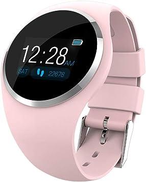 UKCOCO Reloj inteligente Bluetooth, monitorización del sueño con ...