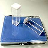 UV Quartz Cuvettes (Pathlength: 10 mm; Chamber Volume: 3.5 ml; Four-Sided Windows) (Qty: 2)