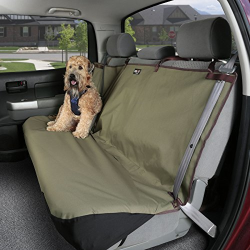 Ramp Cover (PetSafe Solvit Waterproof Bench Seat Cover, Standard Size Dog and Cat Back Seat Cover for Most Cars, Trucks, Minivans and SUVs, Green, 56 in. W x 47 in. L, 2 lb.)