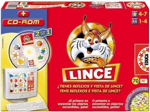 Educa Borrás Lince Multimedia: Amazon.es: Juguetes y juegos