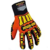 Best Impact Gloves - Seibertron High-Vis Impact Reducing Gloves Heavy Duty Work Review