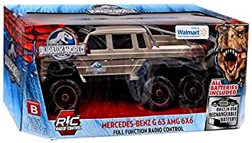 Jada Jurassic World Mercedes-Benz G63 AMG 6X6 R/C Car