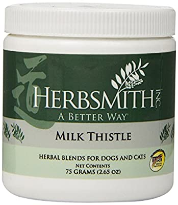 Herbsmith Milk Thistle Herbal Supplement for Dogs and Cats by Herbsmith, Inc.