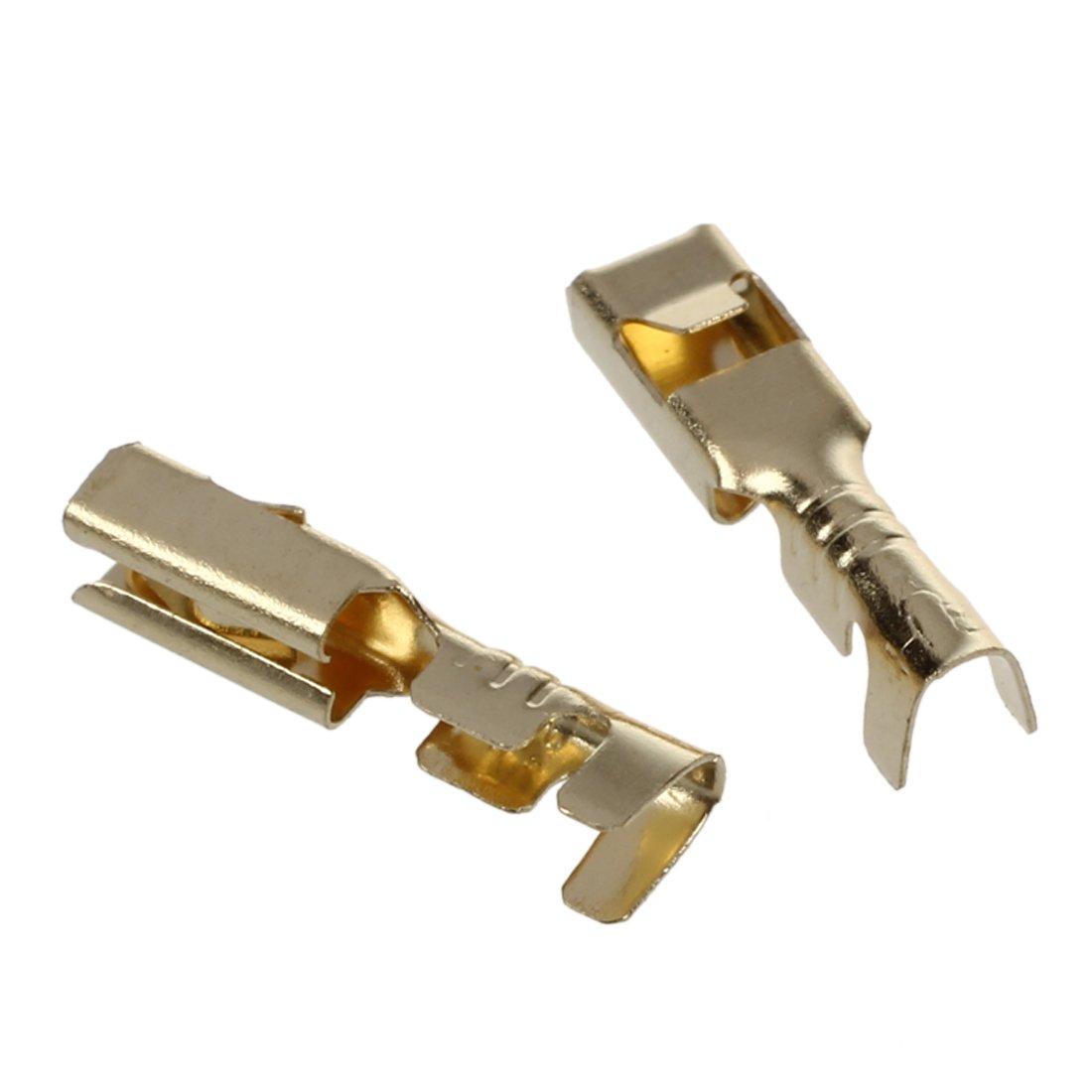 XZANTE 20 x 2.8mm Connecteurs de cosse de cable femelle