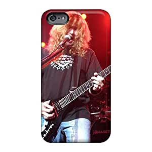 CristinaKlengenberg Iphone 6 Perfect Hard Cell-phone Cases Unique Design Colorful Megadeth Band Series [BLE12197tddt]