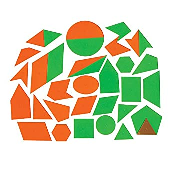 ETA Hand2mind AlphaShapes Geometric Tiles Set Of 52