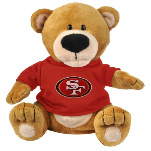 Forever Collectibles NFL San Francisco 49ers TPNFMSSF Plush Bear Loud Mouth, Team Colors, One Size