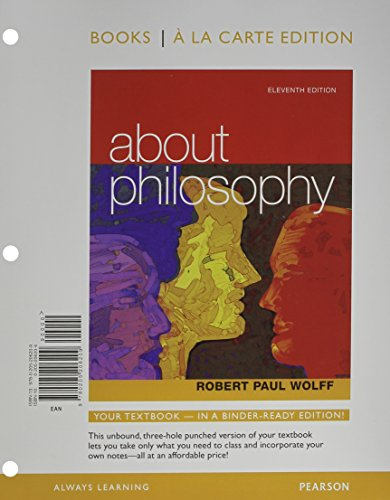 About Philosophy, Books a la Carte Plus MyPhilosophyLab with eText-- Access Card Package (11th Edition)
