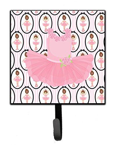 Caroline's Treasures BB5153SH4 Ballerina Pink Tutu Leash or Key Holder, 7Hx4.25W, Multicolor