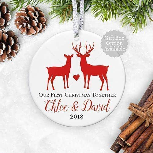 Amazon.com: Our 1st Christmas Together 2018, First ...