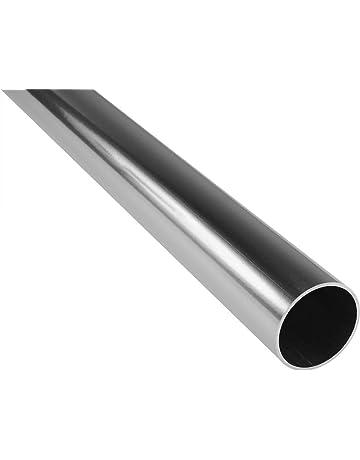 Tubo rectangular aluminio 6060t6/mm 50/x 15/x 1,5/Longitud = 0/metros