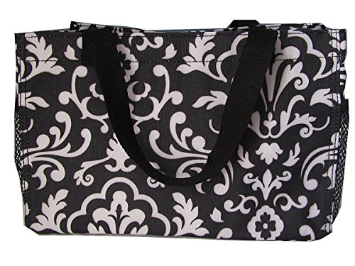 - No Logo All-in-One Mini Organizer Black Parisian Pop
