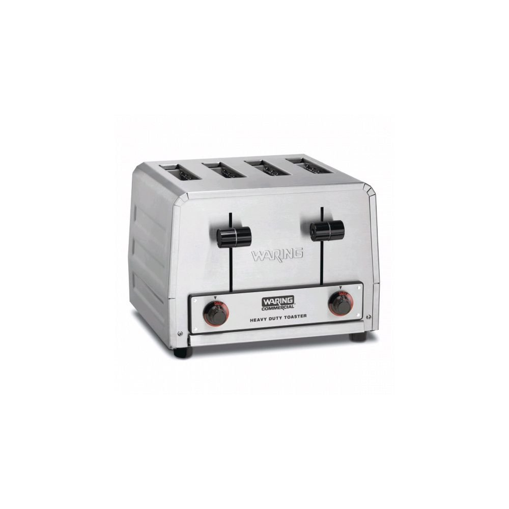 Waring WCT800 Heavy Duty 120V Four Slice Toaster