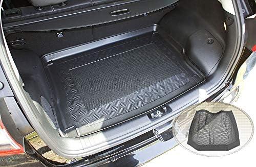 Zentimex Z3078488 Antirutsch Kofferraumwanne Fahrzeugspezifisch Klett Organizer Laderaumwanne Kofferraummatte Auto