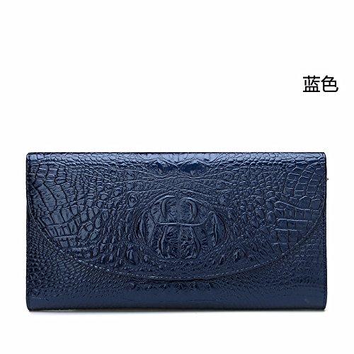 GUANGMING77 blue Mano Violeta De Bolso Otoño Bolsa Cocodrilo rnpSr