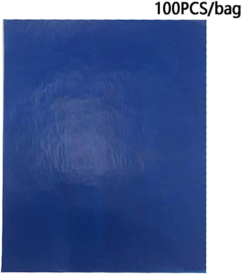 Paper Canvas 100 Sheets Carbon Transfer Paper Tracing Paper A4 Colorful Transfer Paper Tracing Graphite Copy Paper for Wood