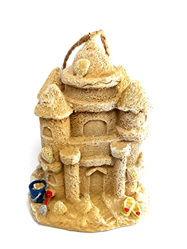 Sandcastle Christmas Ornament