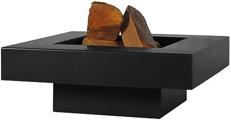 Feuerstelle Farmcook Feuerschale PAN 5 schwarz unlackiert 80 x 80 cm