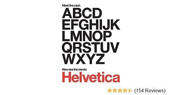 Amazon com: Watch Helvetica | Prime Video