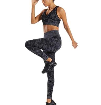 Oneforus Conjunto de Ropa de Yoga para Mujer Chaleco y ...