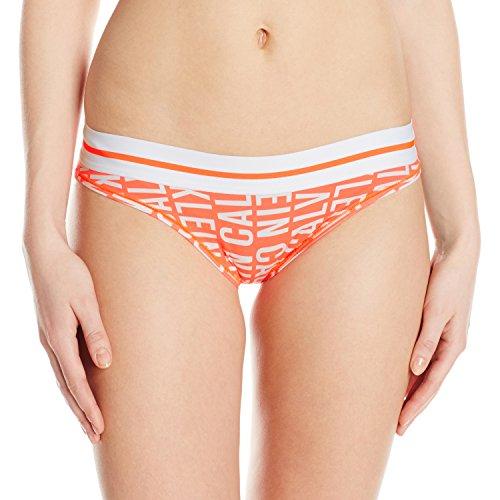 Calvin Klein Women's Modern Cotton Bikini Panty, Reversed Logo/Reversed Nectar, - Logo Nectar