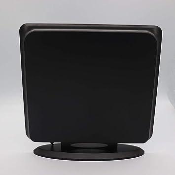 Antena HDTV para interior de TV digital de 120 millas de alcance con amplificador de señal