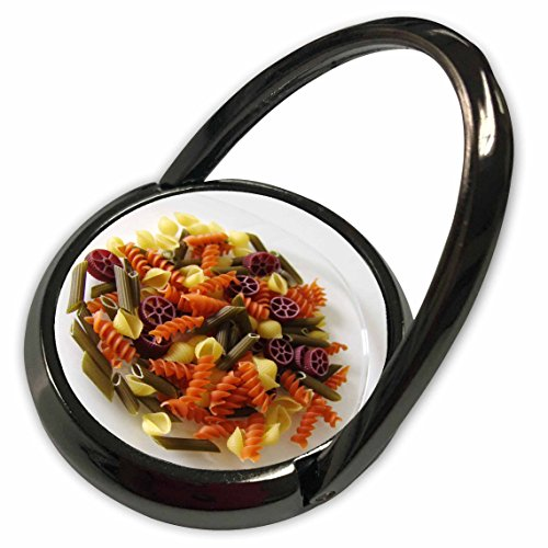 3dRose Florene Food n Beverage - Tri Color Pasta - Phone Ring (phr_30722_1) Tricolore Pasta