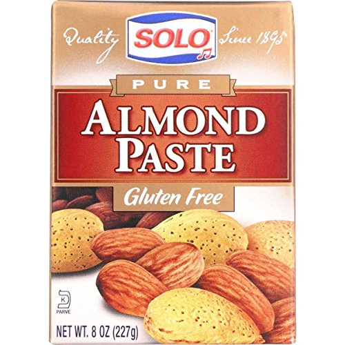 - Solo Foods Almond Paste Pure, 8 oz. Pack of 12
