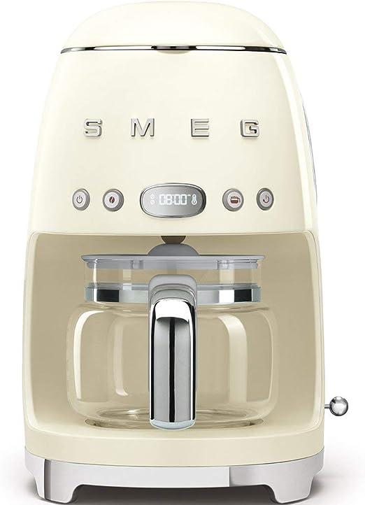 Smeg DCF01CREU cafetera, 1050 W, 1.4 litros, Beige: Amazon.es: Hogar