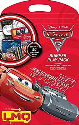 Libro para colorear Z-TECH, UK Bumper Play Pack, Disney Pixar Cars ...