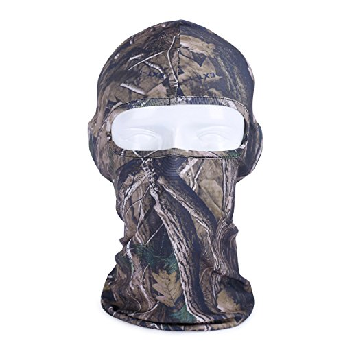 Your Choice Cycling Winter Mask Motorcycle Thermal Gear Hunting Neck Gaiter Balaclava Full Fishing Face Mask, Camo Forest (Full Face Thermal Mask)