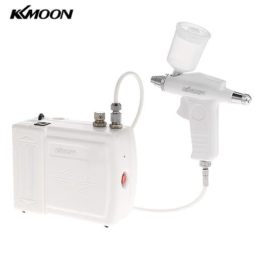 35 opinioni per KKmoon 0,3 millimetri mini portatile di trucco del Airbrush compressore d'aria