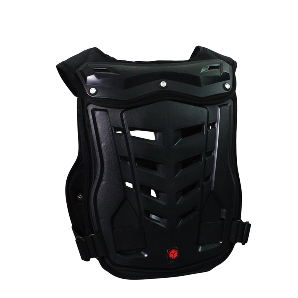 A.B Crew Motorcycle Body Armor Adult Street Bike Chest Protector Off-Road Dirt Bike Vest Protector by A.B Crew (Image #2)