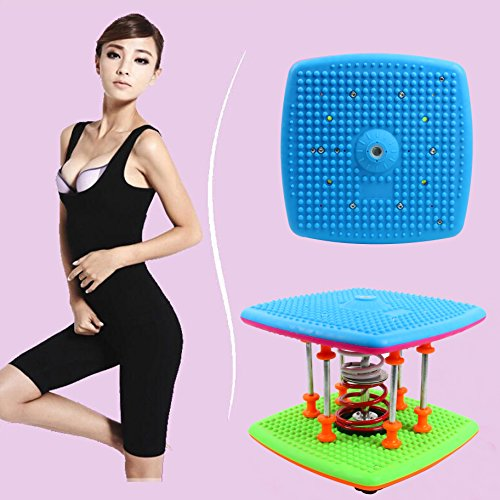 YaeTek Waist Twister,Twisting Waist Body Aerobic Exercise Machine, Health & Fitness Figure Trimmer 7 Spring Bearing Twist Waist Torsion At - Machines Aerobic Exercise