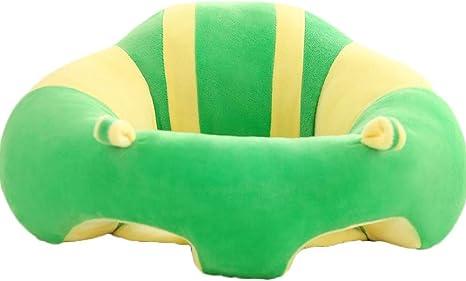 Seggiolone per neonati Cuscino morbido da pranzo in peluche di cotone per bambini Impara a sederti