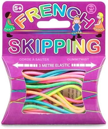 3 X French Skipping Elastic