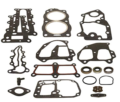 (Powerhead Gasket Set for Johnson & Evinrude Outboard 9.9, 10, 15 hp 2 Stroke 1993-2006 Replaces 436358)