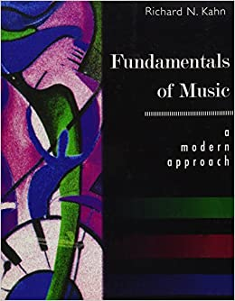 Book Fundamentals of Music: A Modern Approach