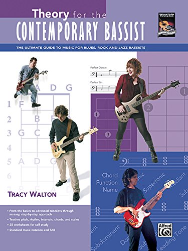 Theory for the Contemporary Bassist: The Ultimate Guide to Music for Blues, Rock, and Jazz Bassists