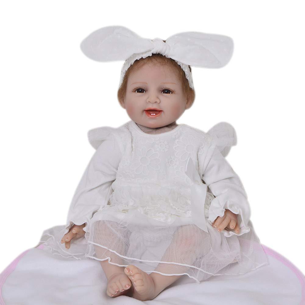 Las ventas en línea ahorran un 70%. B B B 55cm Suave Simulación Recién Nacido Renacido Muñecas de bebé Familia cálida Cuerpo de Tela Realista Baby Dolls Niño Juguete Cumpleaños Navidad Regalo  venta con descuento