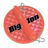 BIGJ DD03901 Mini Diver Disk Red Fishing Downriggers, Red