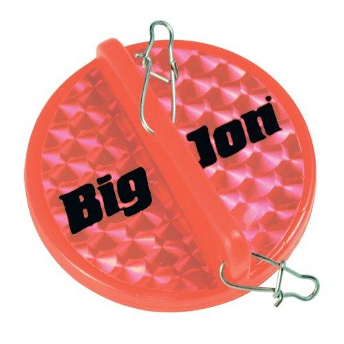 BIGJ DD03901 Mini Diver Disk Red Fishing Downriggers, Red (Disk Mini Diver)