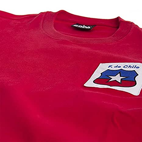 COPA Football - Camiseta Retro Chile Mundial 1974: Amazon.es: Deportes y aire libre