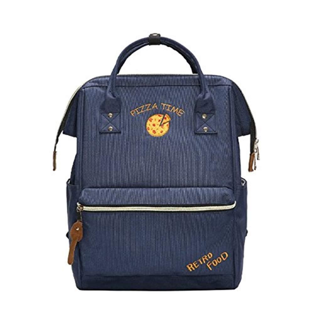 DollylaStore Rucksack - süße Student Tasche weibliche Schultertasche hohe Kapazität lässig Reisen Rucksack (Farbe  schwarz) ( Farbe   Blau )