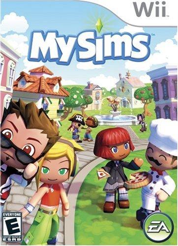MySims - Nintendo Wii - Head Shape Whats My