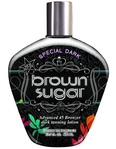 Tan Inc. Special Dark Brown Sugar 45 Bronzer Dark Tanning Lo